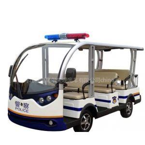 供应河北、甘肃新款8座电动巡逻车