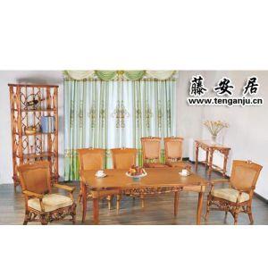 桌子/椅子/餐厅家具/藤艺家具(B-6106)