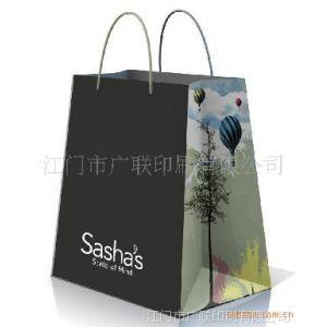 供应服装手提袋 手挽纸袋 礼品袋包装袋 化妆品纸袋印刷制作