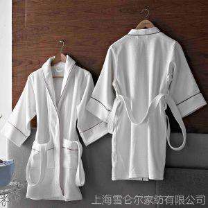供应康尔馨 纯棉儿童浴袍 纯棉加厚 浴袍 睡袍 白色 柔软吸水 厂家直销
