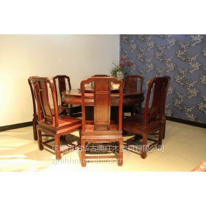 供应圆桌 东阳红木家具厂 红木圆桌 餐厅圆桌 红木家具 餐厅家具 红木圆桌图片
