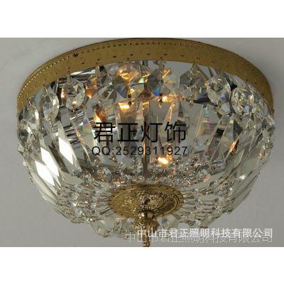 供应厂家批发 现代简约led灯具灯饰 客厅吸顶灯 卧室水晶灯
