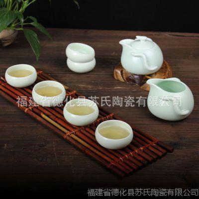 厂家直销精美企鹅壶茶组 高档陶瓷茶具 创意中秋礼品 商务礼品
