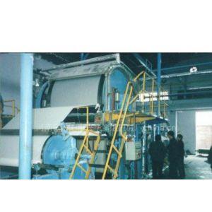 供应1092型单缸单网单毛布纸机