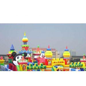 供应出租充气玩具充气卡通充气城堡儿童乐园充气跳跳床租售