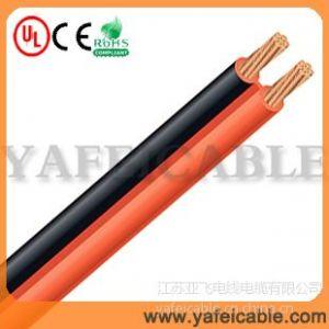 供应透明或红黑喇叭线规格,喇叭线参数,常州喇叭线