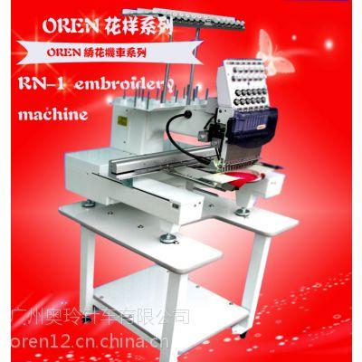 LS1电脑绣花机 高速平绣刺绣机 成衣帽绣机