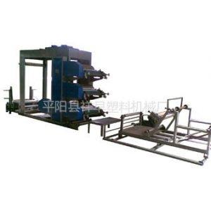 供应厂家推荐天益机械900型塑料编织袋柔版正反面连续印刷机