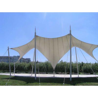 成都广场膜结构设计、广场膜结构施工-壹珈膜结构