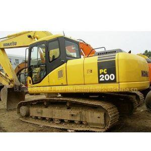 供应07年小松PC200七八成新挖掘机出售19万