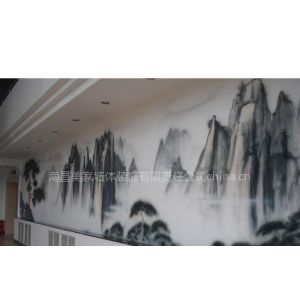 供应南昌墙面彩绘!性价比的墙绘公司