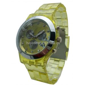 供应广东塑胶手表厂家 女款时尚休闲手表 女士礼品手表供应