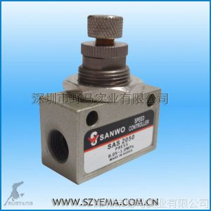 供应单向节流阀  SAS2050 面板安装