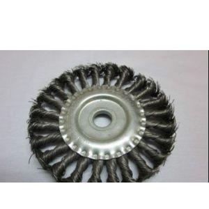 供应不锈钢钢丝轮 扭丝钢丝轮