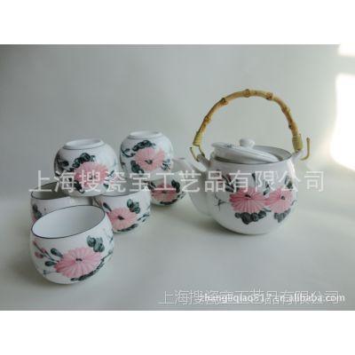 供应定制加工各种手绘景德镇陶瓷茶具 高档茶具礼品