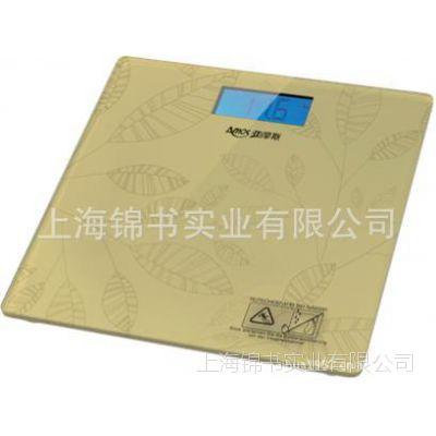 亚摩斯钢化玻璃超薄健康称体重秤人体秤AC202/AC203