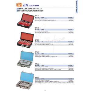 供应安威整体 筒夹套装 ER16-10PCS
