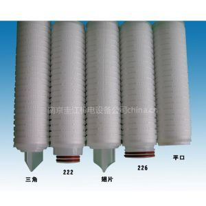 供应聚丙烯微孔折叠滤芯