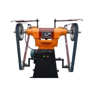 供应立式砂带机LC-SD300 立式抛光机 东莞立创拉丝机