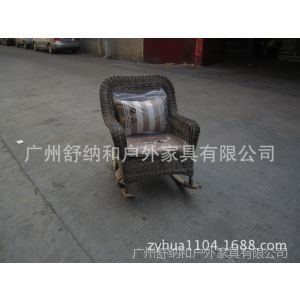 供应单人沙发 会所休闲椅 楼盘小区休闲沙发 仿藤桌椅 编藤摇椅