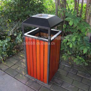 供应红古铜四菱角果皮桶,青铜压花边垃圾桶,高档写字楼电梯旁垃圾桶