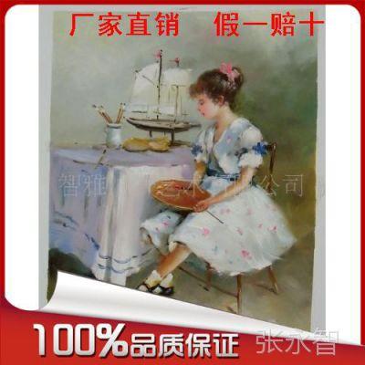 供应厂家直销手工油画、抽象画、装饰画、现代画、欧式油画批发
