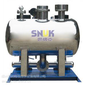 供应绍兴思纳格牌叠压(无负压)供水设备