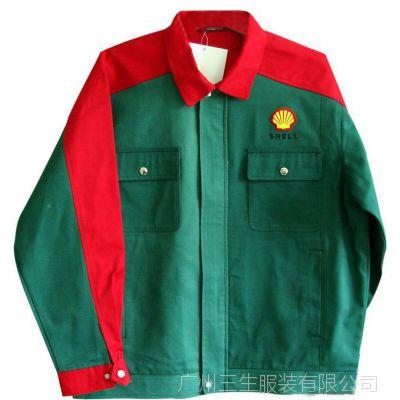 长袖工衣 广州厂家定做套装工服 工程服 电子厂工装 订做男女款