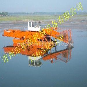 供应人工湖专用水草打捞船 水面清扫保洁船