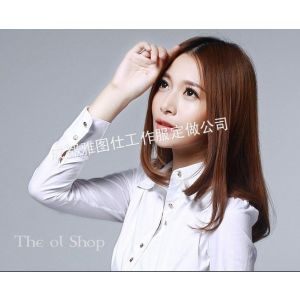 供应定制女士衬衣,女士衬衣定制,生产衬衣