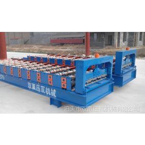供应角驰压瓦机 彩钢压瓦机  复合板压瓦机建材生产加工机械