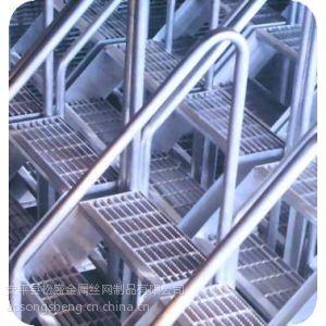 供应包头热镀锌钢格板厂/钢格栅板生产流程示意图
