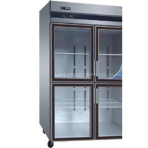 供应冷藏食品展示柜|双顶门冷冻柜 四门冷柜