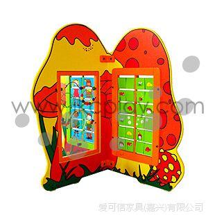 爱可信IKC蘑菇 进口榉木 室内儿童游乐设施 淘气堡