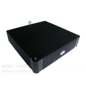 供应1037U迷你主机,桌面虚拟化云终端,全铝机箱