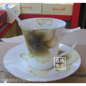 供应纯手工咖啡杯,手工贴花咖啡杯,礼品杯