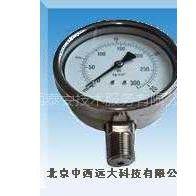 (中西)供应弹簧管压力表(YCM特价)
