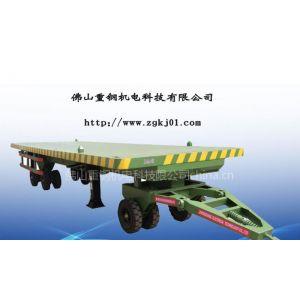 厂家直销20吨发电机拖车 20吨平板车 20吨柴油发电机拖车 20吨周转车
