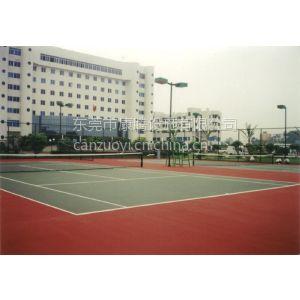 供应哪里有做网球场的?东莞丙烯酸网球场专业施工设计