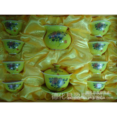 供应茶具 青花瓷 整套功夫陶瓷茶具套装 可印LOGO 厂家批发特价