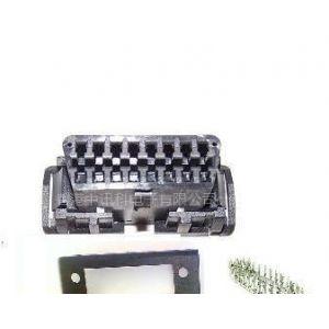 供应OBD2 16P 母座卡扣式汽车连接器