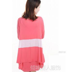 供应2013韩版时尚孕妇装秋装 秋季新款孕妇连衣裙外出哺乳衣长袖0920