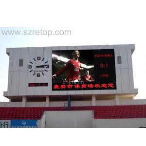 供应商业广场门头彩色电视机,LED全彩广告显示屏