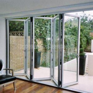 供应玻璃推拉折叠门
