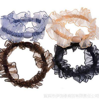 新款韩版时尚百搭麻花毛绒百搭多色发圈发绳批发淘宝热卖地摊货源