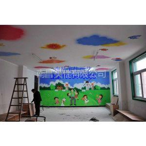 供应南昌幼儿园壁画彩绘手绘墙画,南昌优质品牌!