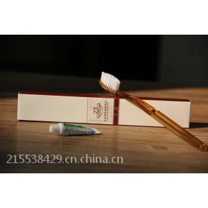 供应酒店一次性软毛牙刷牙膏宾馆牙具纸盒包装印LOGO