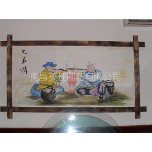 供应宜春 新余丰城高安樟树学校校园文化墙彩绘手绘墙涂鸦壁画供应!