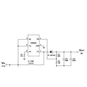 升压ic_【移动电源线性升压IC(兼容FP6291) 移动电源升压IC DCDC】价格 ...
