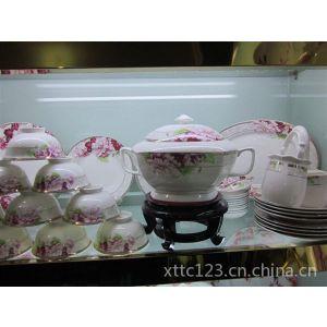 供应景德镇骨瓷餐具套装,56头高档礼品餐具